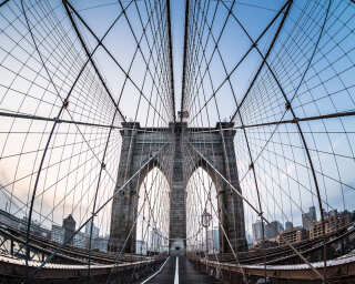 Fototapete «Brooklyn Bridge» DD102038