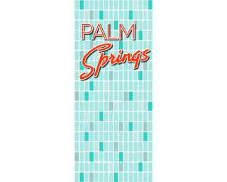 Türtapete «Palm Springs» DD105206