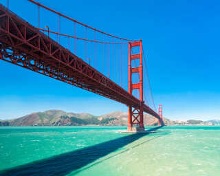 Fototapete «Golden Gate» DD106089