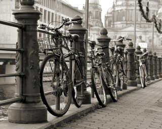 Fototapete «Bicycles» DD115236
