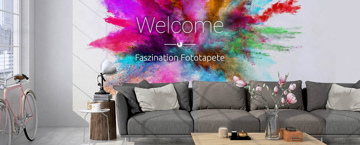 Fototapete Design & Muster - Colour Splash