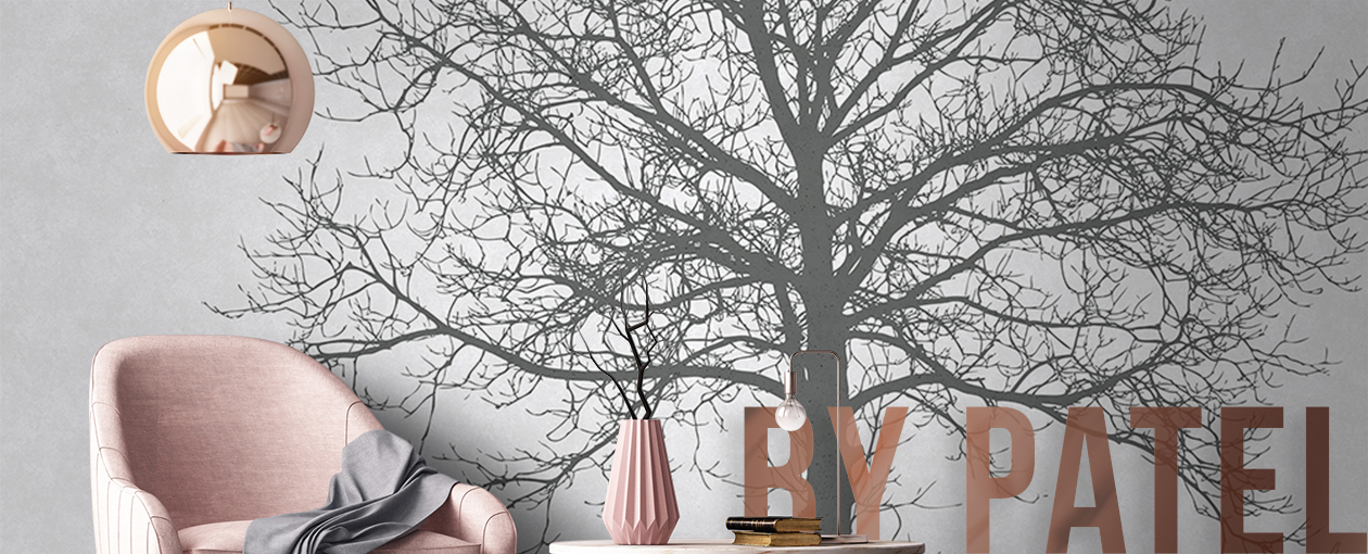 Fototapete by Patel - Solidary Tree Grey